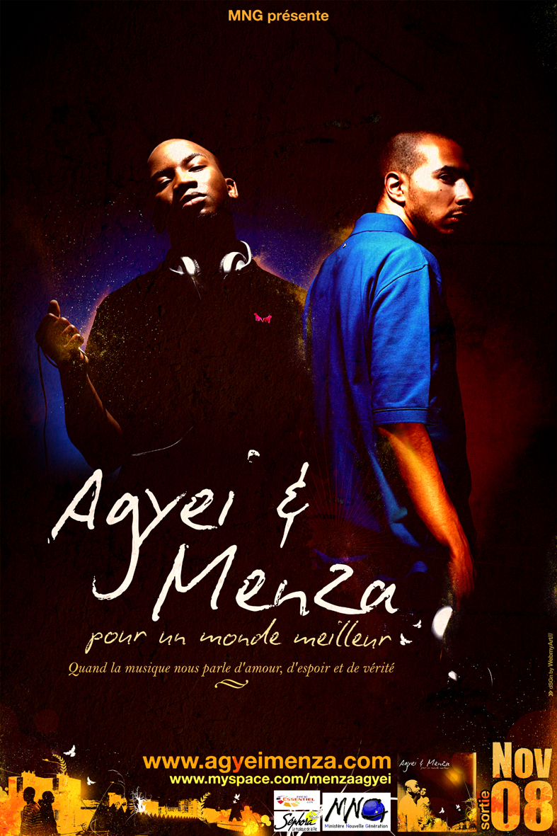 Agyei & Menza - Flyer