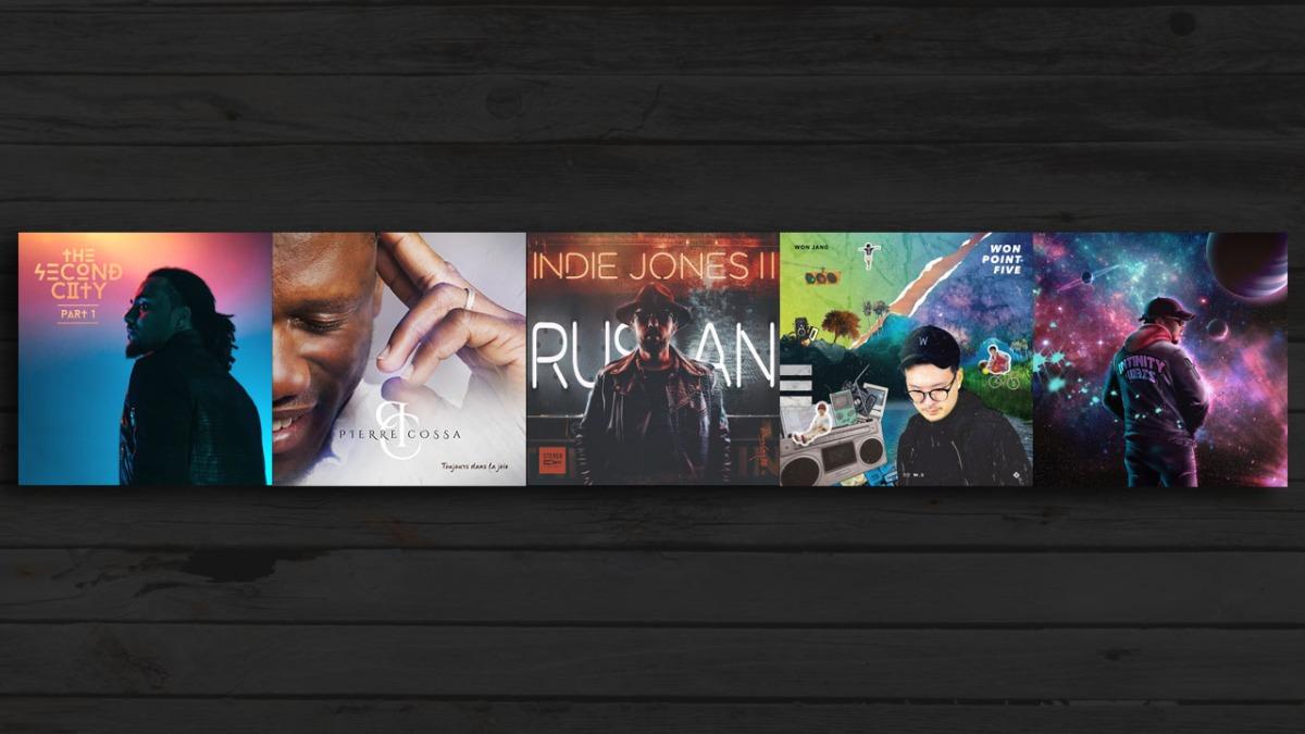 Mes 5 albums de janvier 2018