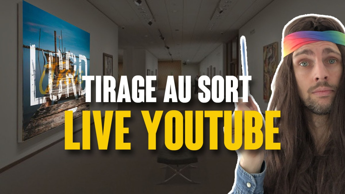 Jeu Art4Jesus - Tirage au sort (Live Youtube)